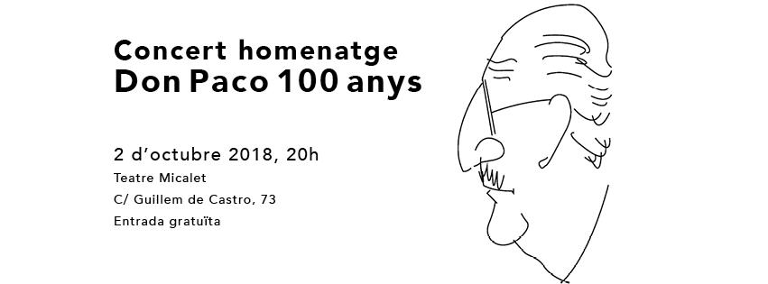 Francisco Llácer Pla, cien años de música